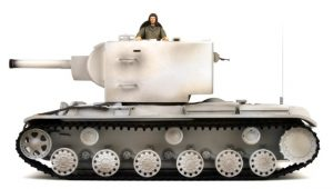 kv-2 winter camouflage rc tank