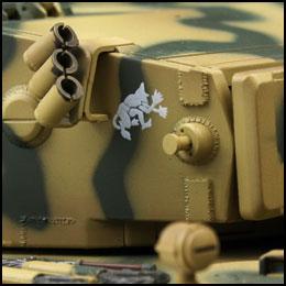 rc tiger 1 tank groen camouflage ir battle tank