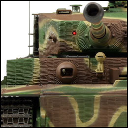 tiger 1 late version model rc tank bos camouflage