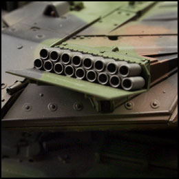 rc leopard 2a5 tank vstank radiografisch bestuurbare tank