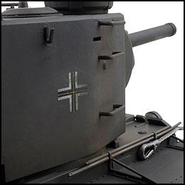 duitse tank tweede wereldoorlog bestuurbaar pz.754(r) vstank