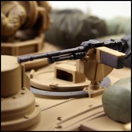 m1a2 abrams desert storm model tank infrarood rc tank