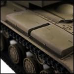 bestuurbare tank tweede wereldoorlog kv-2 vstank