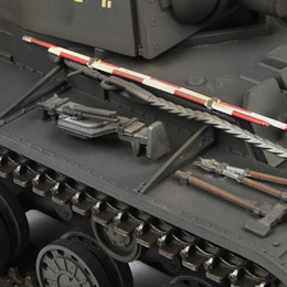 model tank pz.753(r) infrarood tank ir-battle