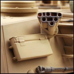 m1a2 abrams model tank infrarood rc tank