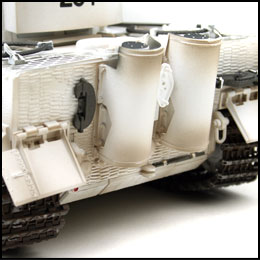 rc tiger 1 winter camouflage ir battle tank