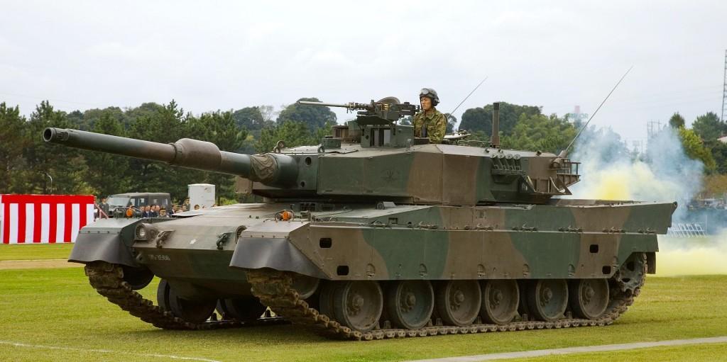 Japanese_Type_90_Tank_-_2